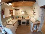 Lavender kitchen - fisheye view