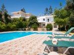 Private Home, Relaxing Pool, near Sandy Beach,  Sleeps 14