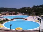 free access to the village swimming pool