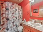 With 3 full bathrooms, everyone will have plentiful space to get ready.