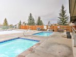 Located in the Pines at Meadow Ridge, this condo offers access to several community amenities.