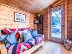 Loft with futon.