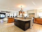 Chef's kitchen; fully equipped with high end appliances!