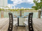 Enjoy a small meal by the water for an unbeatable dining experience