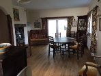 Large open plan Dinning / Kitchen leading to a conservatory