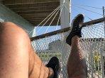 Lower deck hammock