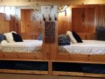 Swedish cupboard style beds with trundles