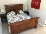 Restoration Hardware Queen bed.