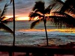 Beautiful Sunset from private lanai.