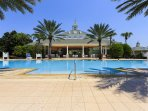 Seven Eagles Pool Complex - heated infinity pool, hot tub, cabana bar, and fitness center