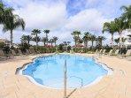 The pool on Cabana Court