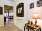 You are surrounded by the warm and inviting atmosphere of your home the moment you walk through the door
