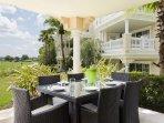 Dine al fresco on your very own patio