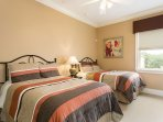 Spacious Twin Bedrooms
