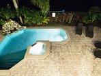 Patio Pool deck area
