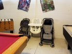 Strollers and Highchair