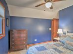 All 3 rooms come complete with ceiling fans to keep you cool and comfortable through the night.
