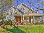 Find your next home-away-from-home at this vacation rental house on the happening side of Charlotte!