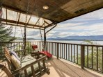Gorgeous lakefront home w/ stellar views and private dock - dogs ok!