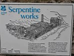 Old Serpentine stone works on the Lizard. 20 mins drive.