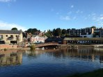 Exeter Quay (15 mins drive away).