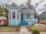 Front view of House - Queen Anne Victorian in downtown Hayward