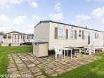 8 berth caravan for hire at Haven Hopton Holiday Village