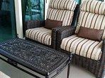 Upgraded patio furniture