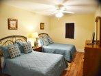 Guest bedroom with 2 queen beds