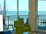 Gorgeous oceanfront views from living areas
