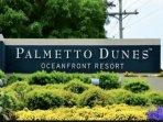 Palmetto Dunes Entrance