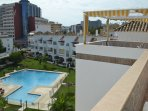 large communal pool with children´s section