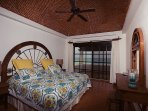 Bedroom #2 -  ocean view bedroom - king bed , en suite bathroom (remodeled 2016)  & balcony
