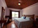 Bedroom #3 - garden view bedroom - king bed , en suite bathroom (newly remodeled 2016)  & balcony