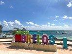 Playa Del Secreto, Puerto Morelos 'Secret Neighbor' only six miles (10 k) south.