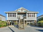 Find a beach house that feels like home when you stay at this vacation rental on the coast of Surf City!