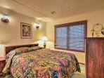 Enjoy peaceful slumbers from the queen bed in the front bedroom.