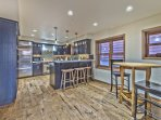 Fully Equipped Kitchen with Stainless Steel Appliances, High-end Touches and Hardwood Floors with Radiant Heat, a...