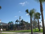 Playground by the fishing pier