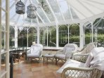Conservatory, perfect for entertaining, a place for the children to relax or just to soak up the sun