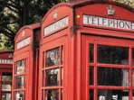 London's famous telephone booth