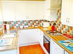 Fully equipped family kitchen