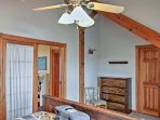 Ceiling fans keep you cool at night.