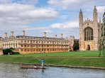 The beautiful city of Cambridge is within easy reach