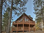 This Flagstaff cabin is the perfect destination for your next vacation.
