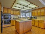 Create delicious homemade meals in the fully equipped kitchen.