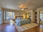Rest and recuperate in one of the 4 bedrooms.