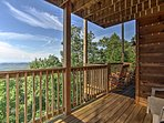Step out on the main level deck with a hot cup of coffee to bask in the morning sunrise.