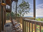 Retreat to the Smoky Mountains at this charming vacation rental cabin in Sevierville!