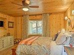 Bedrooms 1 and 2 feature cozy queen beds.